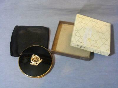 Rare Stratton Compact Royal Military Police Crest Late 1960'S