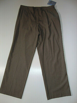 NWT $48 AVENUE Women's Taupe Flexi-Fit Waistband DRESS PANTS Size 18 Average NEW