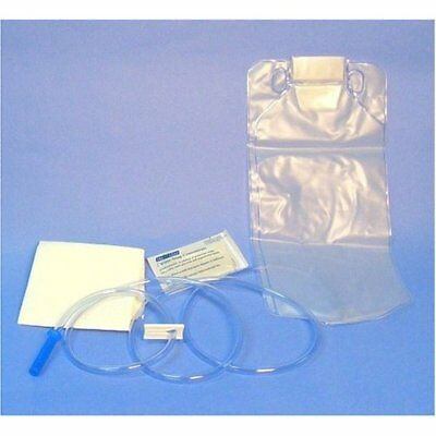50 Disposable Enema Bag Set w/ Castile Soap & pad each sealed packs 1500ml one c