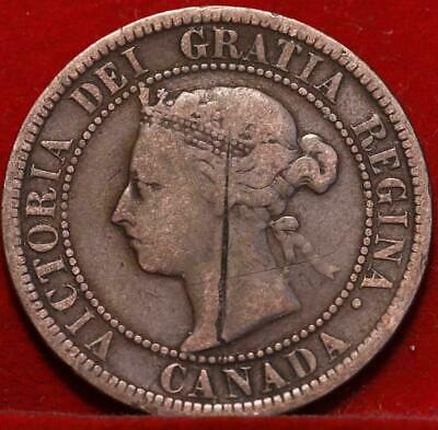 Nice 1888 Canada Large Cent 1c Victoria You Grade