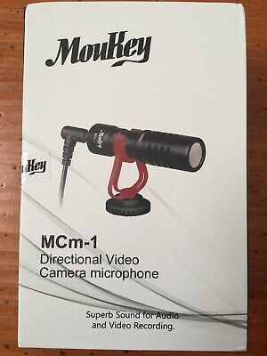 Moukey MCm-1 videocameras External microphone Unidirectional 97209 fromJAPAN