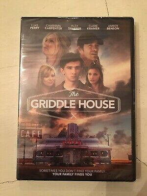 New & Sealed! The Griddle House DVD! Luke Perry Amber Benson 2018 Movie