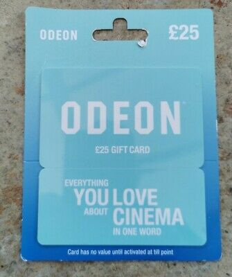 £25 ODEON Cinema Voucher / Gift Card
