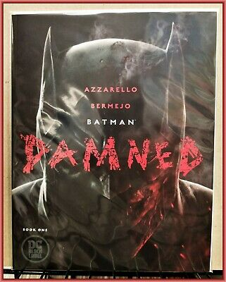 Batman Damned #1 1St Printing Uncensored Edition Out-Of-Print Joker Harley Nmint