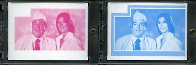 1977 Topps Charlies Angels Color Separation Proof Cards. #243