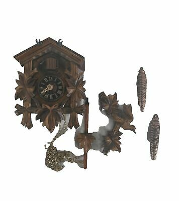 River City Clocks One Day Hand-Carved Cuckoo Clock - Model # 11-09