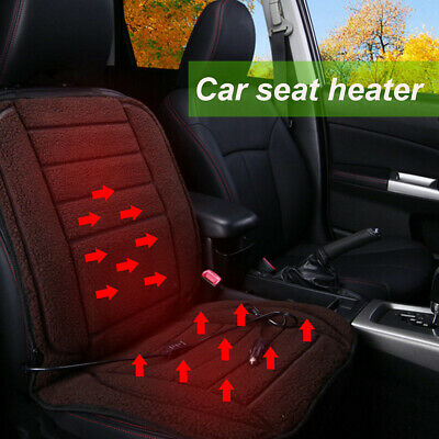 12V Universal Car Heated Seat Cover Cushion Heater Intelligent Warmer Winter L