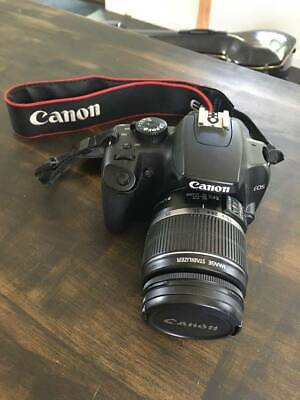 LIKE NEW Canon Rebel XS EOS w 18-55mm lens and MACRO zoom Lens w Case
