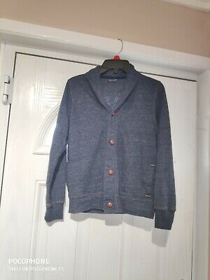 Boys Denim Blue Next Cardigan Age10years