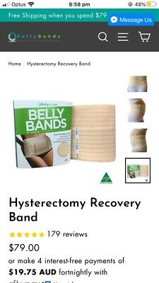 Pregnancy Belly Band Support Belt Hysterectomy Recovery