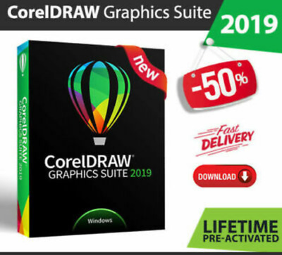 CorelDraw Graphics Suite 2019 Fast Delivery Lifetime Activated