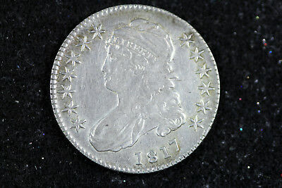 Estate Find 1817 Capped Bust Half Dollar  #D14264
