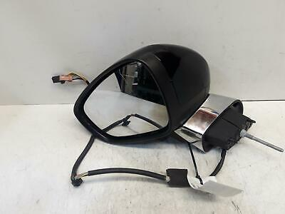 2014 Citroen Ds3 Mk1 Left Front Electric Mirror, Heated & Powerfold Black 10-17