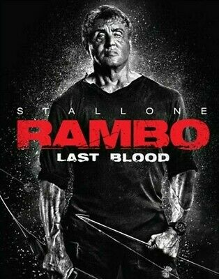 Rambo: Last Blood Dvd, New And Sealed