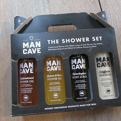 ManCave - The Shower Set - Honest Grooming Products Made For Men.
