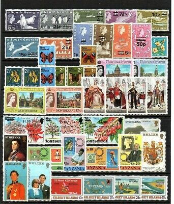 British Commonwealth  Mixture Unmounted Mint Includes Sets Very Useful Lot