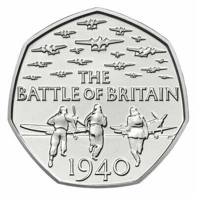 Battle Of Britain 50p Coin BRAND NEW UNCIRCULATED Very Collectable Fifty Pence!