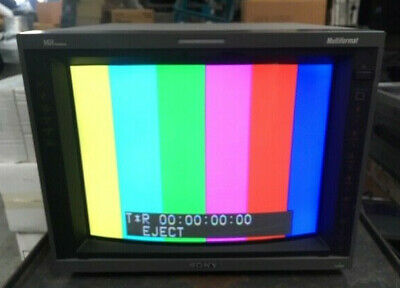 "Sony PVM-14L5 14"" CRT PRO Broadcast Video Monitor RETRO GAMING"