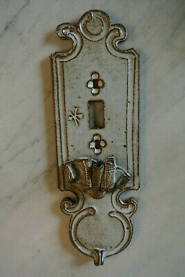 Arts & Craft Pottery Sculpture Light Switch Cover Plate Single Toggle 11""