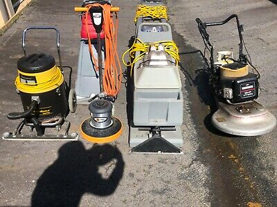 commercial janitorial equipment, floor buffer, carpet extractors, vacuum,