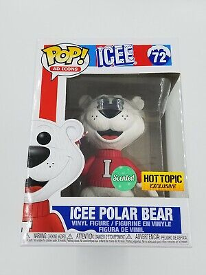 Funko Pop! Ad Icons #72 Icee Polar Bear Scented Hot Topic Exclusive  (0960)