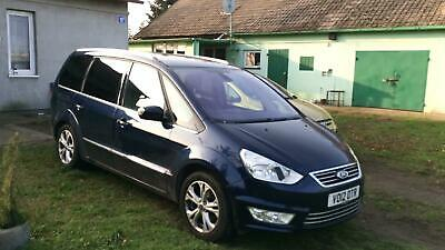 Ford Galaxy Titanium, 2 litre diesel, FSH, Ink Blue 7 seater
