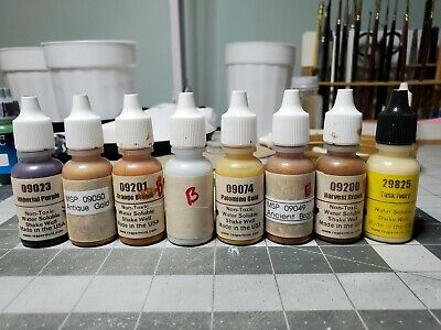 Reaper Acrylic Paint and Vallejo Game Color Inks Lot of 90 (USED)