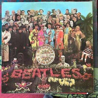 "The Beatles ""Sgt Peppers Lonely Hearts Club Band"" - 1st MONO Press - Wide Spine"