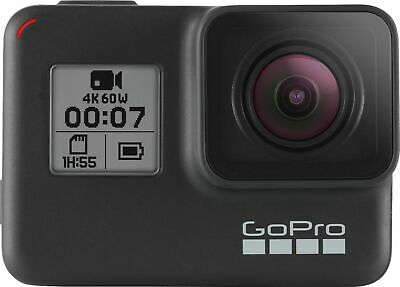 GoPro - HERO7 Black Live Streaming Action Camera - Black