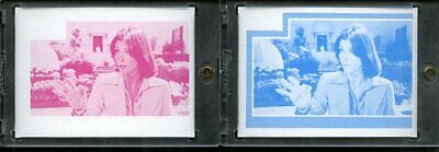1977 Topps Charlies Angels Color Separation Proof Cards. #234