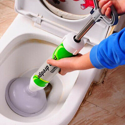 Toilet dredger Suction Plunger Toilet Sink Pipe Clog Remover Drain Buster Tool q