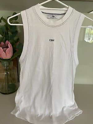 Camilla & Marc C&M Classic Singlet Tank Top Tshirt Size 8 Small Very Good Cond