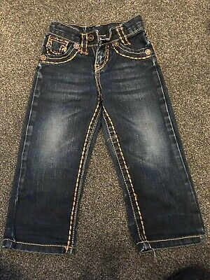 Boys Joey True Religion Jeans Aged 3 Years