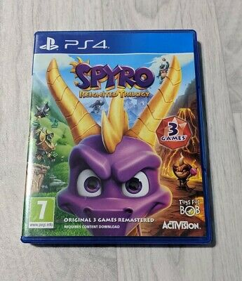Spyro Reignited Trilogy (PS4) The 3 Original Remastered Spyro The Dragon Games