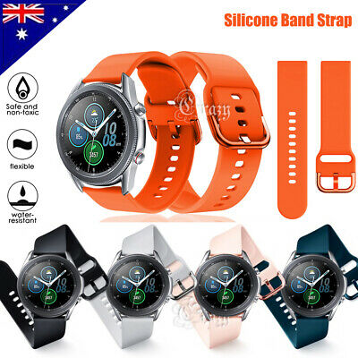 Samsung Galaxy Watch Active 2 Band Replacement Silicone Sport Wrist Band Strap