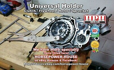 Universal Clutch  Holder Holding Tool Yamaha Ym-91042 90890-04086 Very Handy!