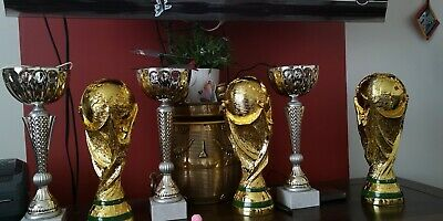 Football Russia Cup Trophy Replica National Football Soccer Gift size 36 cm-Used