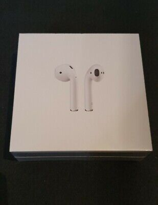 APPLE AirPods with Charging Case (2nd generation) - White - brand new unopened