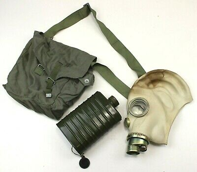 Polish Army Gas Mask Kit + Filter & Bag Mp3 (Auc1)
