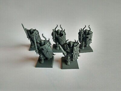 5 Warriors Of Chaos | Slaves to Darkness | AoS Warhammer