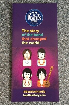 The Beatles Story : Liverpool Promotional Flyer - 2018 In India Edition
