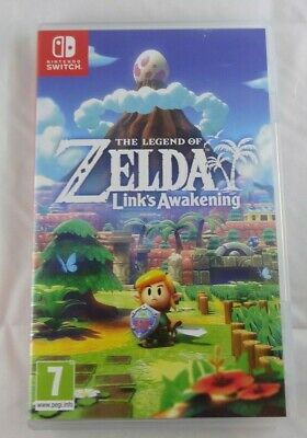 BOX ONLY - The Legend of Zelda Link's Awakening - Switch
