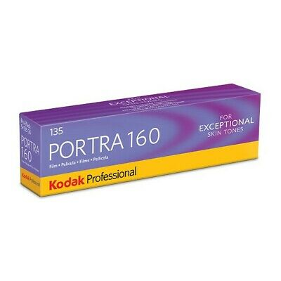 Kodak Professional Portra 160 ISO 36 Exp 35mm Colour Print Film - 5 Pack