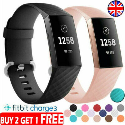 Replacement For Fitbit Charge 3 Wrist Straps Wristbands Accessory Watch Bands