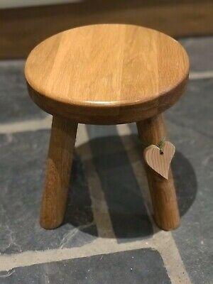 Solid Welsh Oak Milking Stool