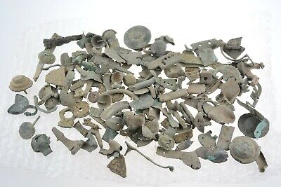 Roman to Byzantine bronze artifacts 100-800 AD 853 grams
