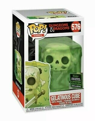 PREORDER Funko Pop Dungeons & Dragons ECCC Shared Exclusive GELATINOUS CUBE #576