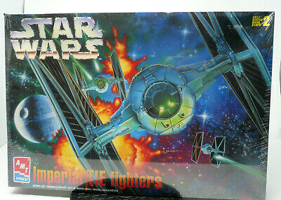 AMT 8438 Star Wars Imperial Tie Fighters Kit - New RO-MM