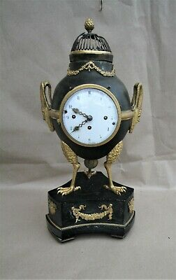 Regency Period Gilt Bronze  Mantel Clock 1795-1800