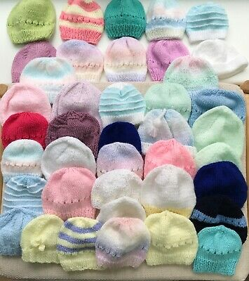 Bundle of 40 Baby Hats for an SBCU
